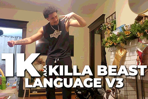 Language V3 | 1K aka Killa Beast