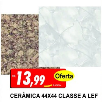 Cerâmica 44x44 LEF