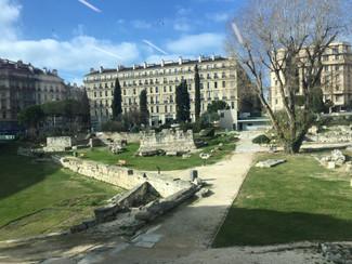 Sortie des 6e au musée d'Histoire de Marseille
