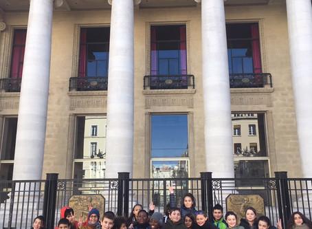 Les 6eB à l'Opéra de Marseille