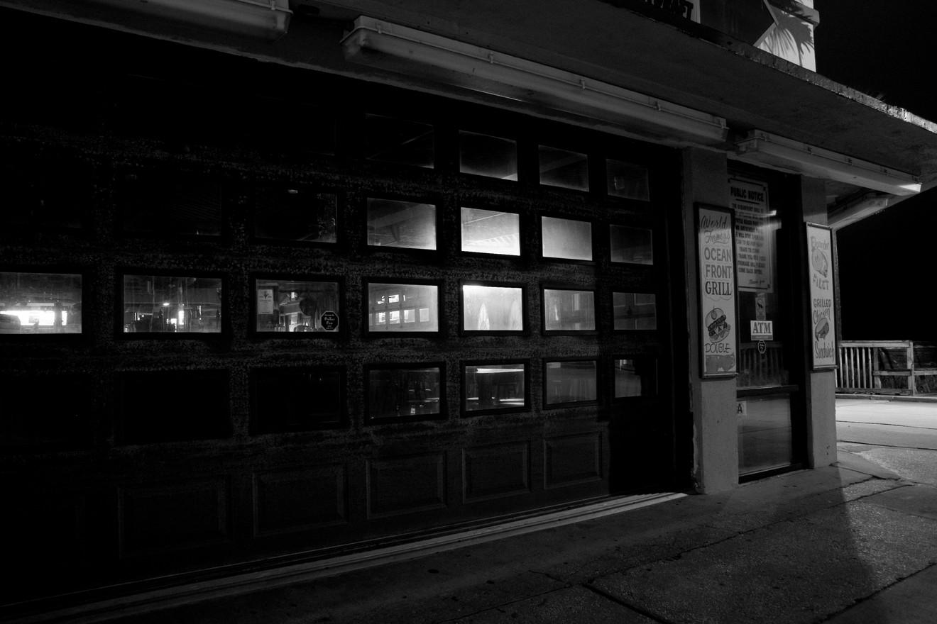 Boardwalk Bar, Night, Winter