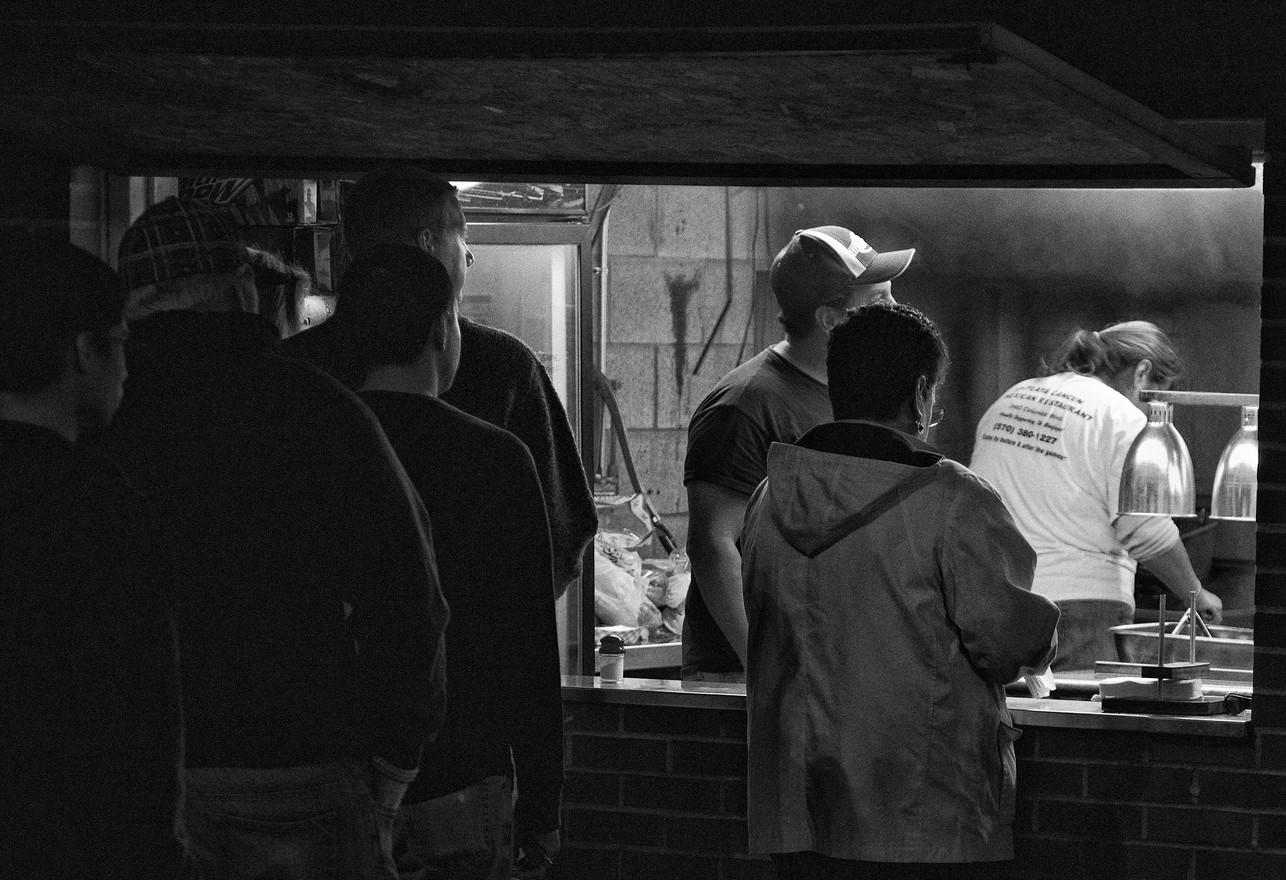 Football Snack Bar, Bloomsburg