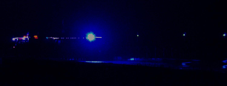 Myrtle Beach Pier, Night, Winter