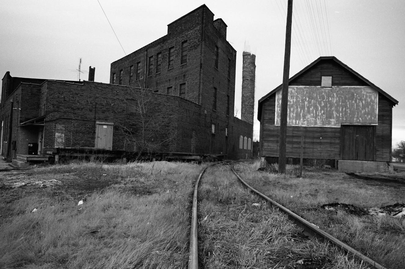 Taylorville IL Railyard