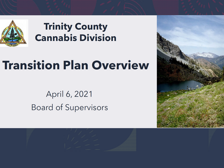 Trinity County Has A Plan