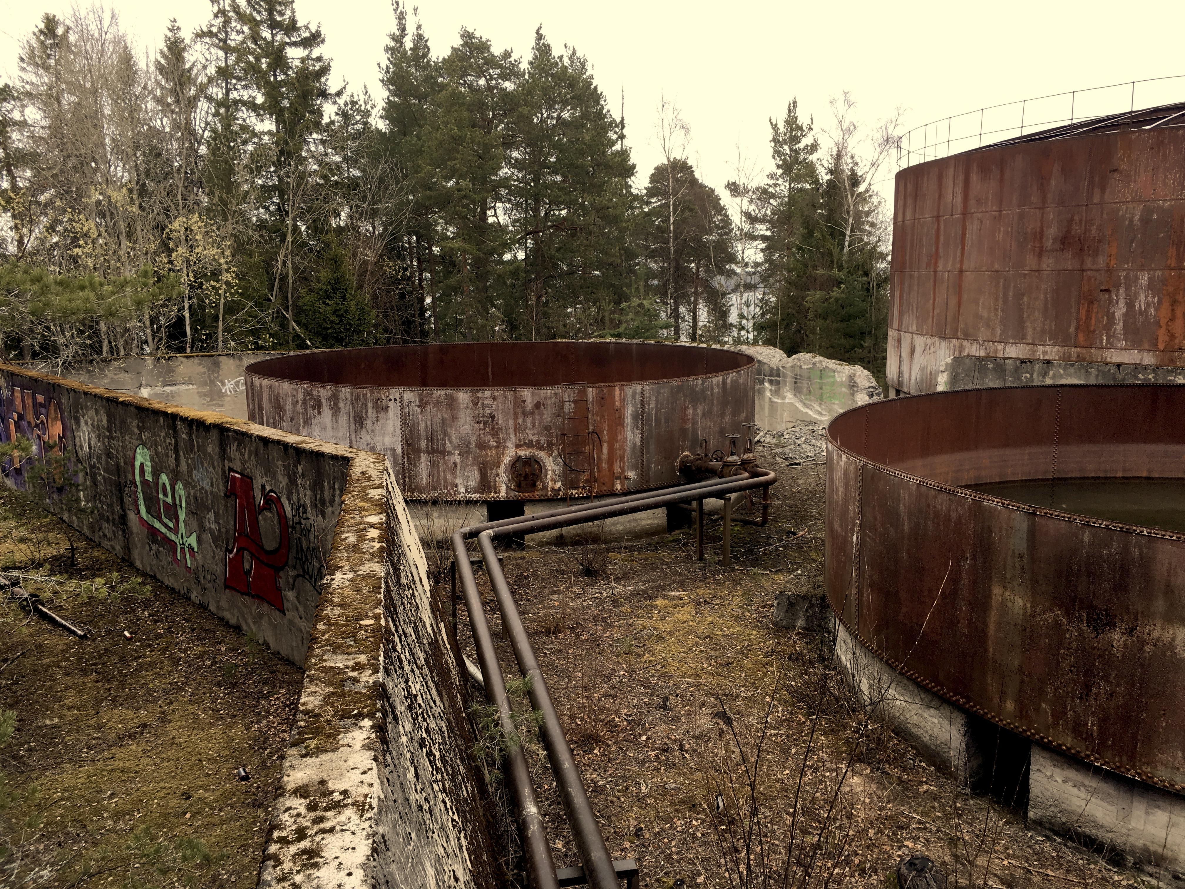 De store cisterner