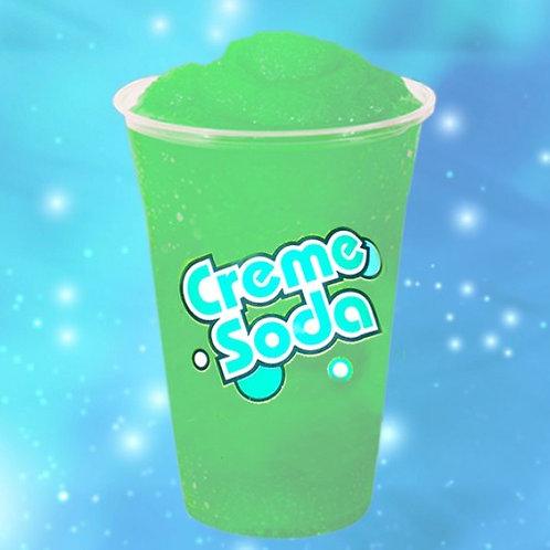 Creme soda slush