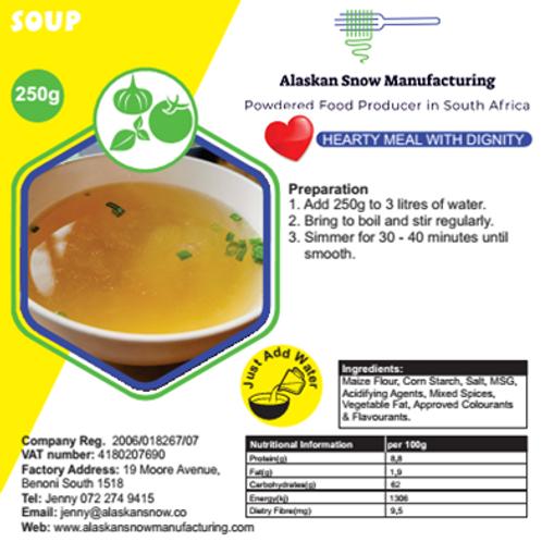 Vegetable Soup Alaskan Snow