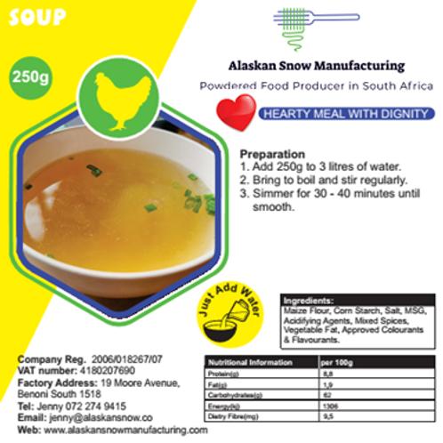 Chicken Soup Alaskan SNow