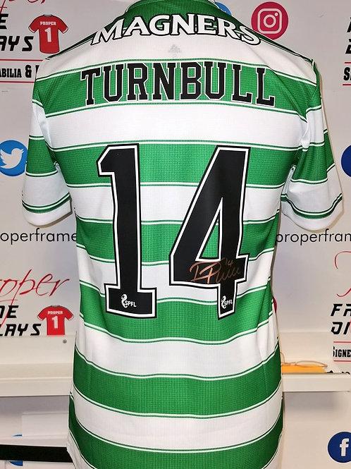 David Turnbull signed shirt