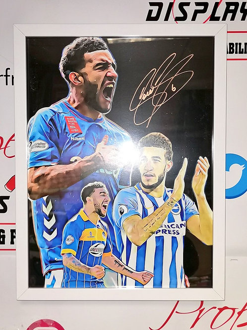 Connor Goldson signed picture