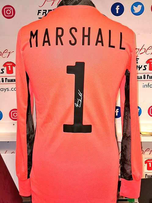 David Marshall signed shirt