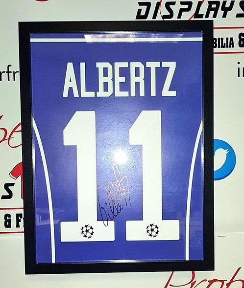 Jorge Albertz signed print