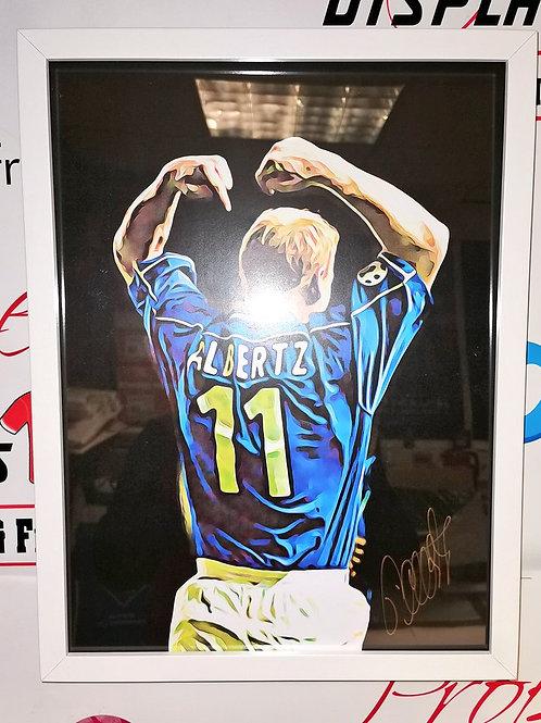 Jorg Albertz signed picture