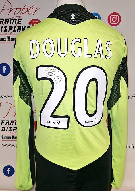 Rab Douglas signed shirt