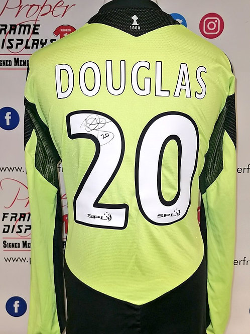 Rab Douglas signed shirt