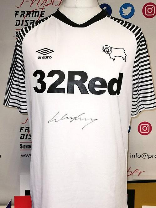 Wayne Rooney signed shirt