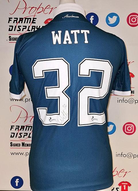 Tony Watt signed shirt
