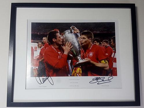 Jamie Carragher & Steven Gerrard