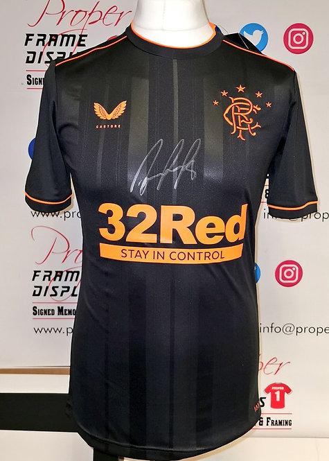 Ryan Jack signed shirt