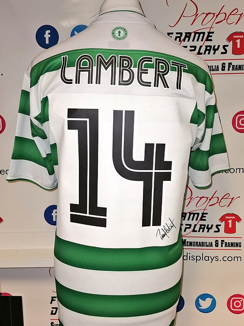 Paul Lambert signed shirt