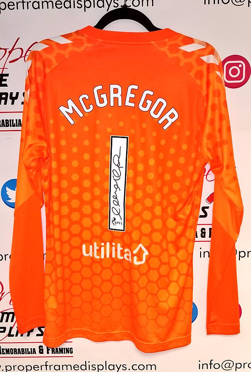 Allan McGregor signed shirt