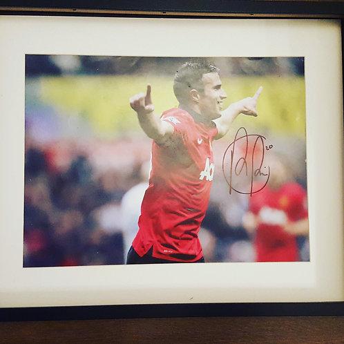 Robin Van Persie Hand Signed Photograph