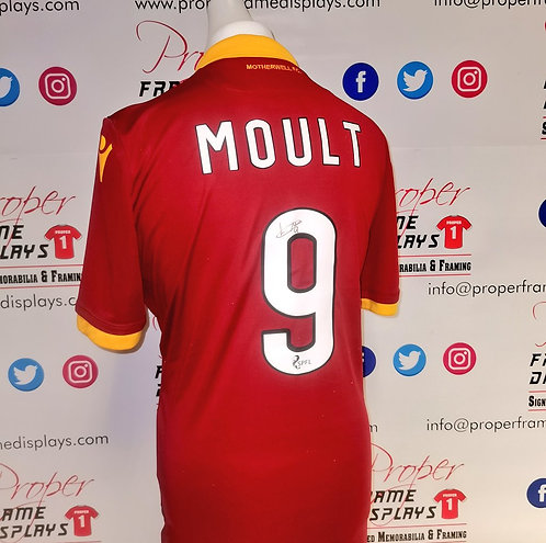 Louis Moult signed Motherwell shirt