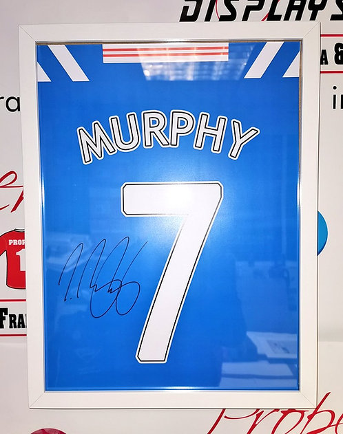 Jamie Murphy signed shirt style picture