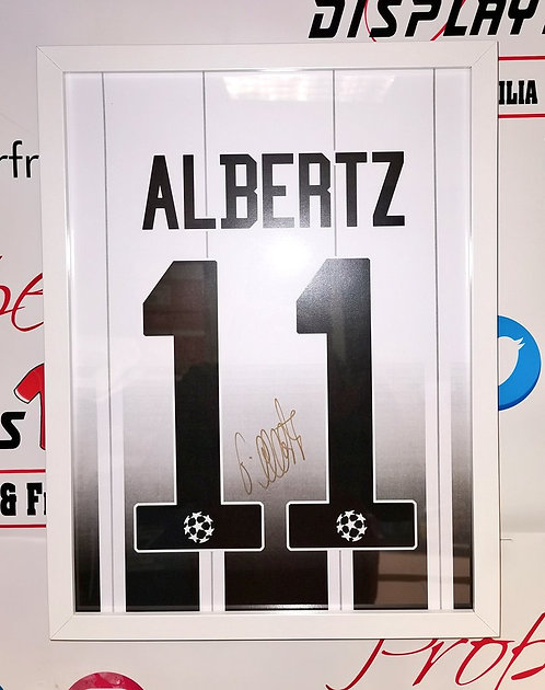 Jorg Albertz signed shirt style picture