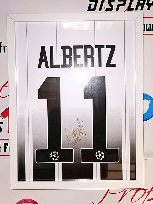 Jorg Albertz signed shirt style picture