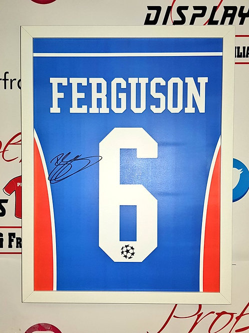 Barry Ferguson signed print