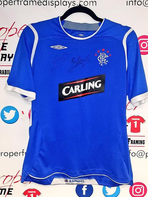 McCulloch & Ferguson signed youth shirt