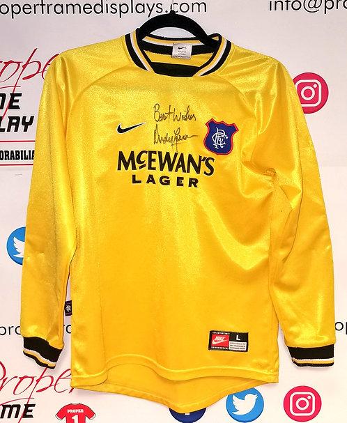 Andy Goram signed shirt