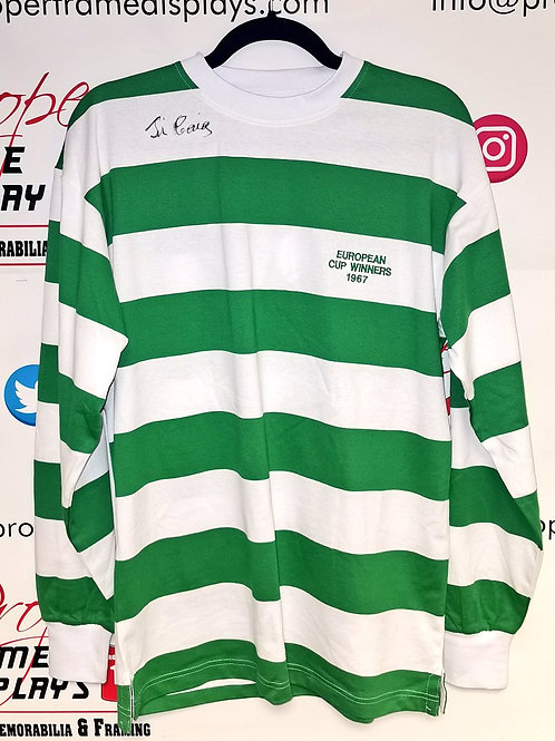 Jim Craig signed shirt