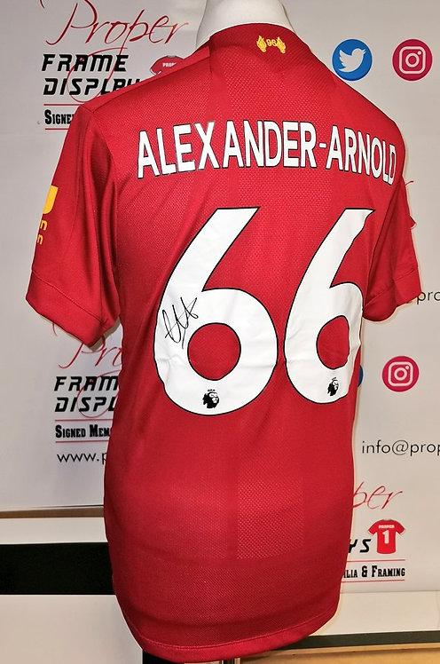 Trent Arnold Alexander signed shirt