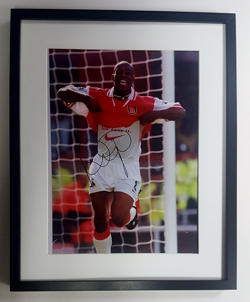 Ian Wright Signed Photograph