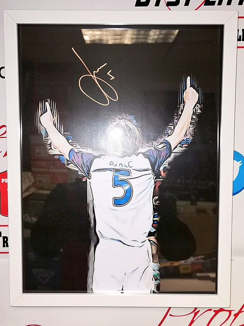 Sasa Papac signed Rangers picture