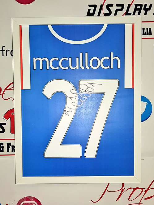Lee McCulloch signed print