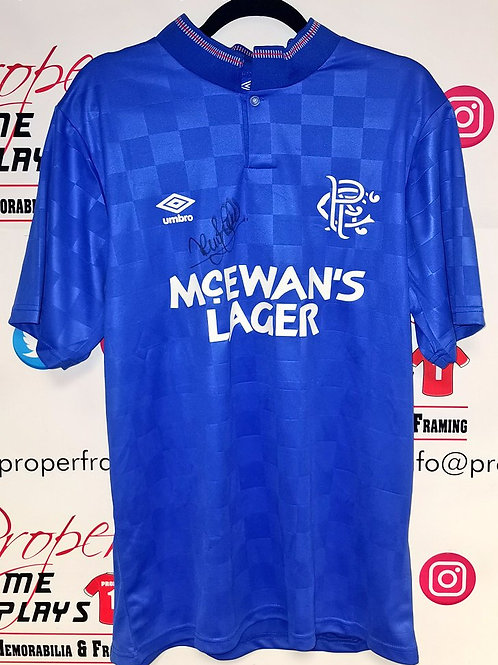 Terry Butcher signed shirt