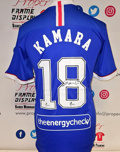 Glen Kamara signed shirt