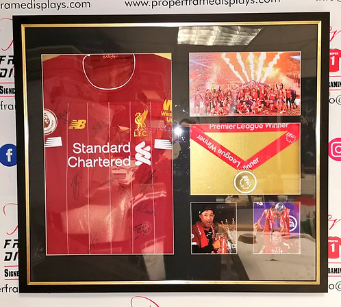 Liverpool signed Premier League Winners Frame