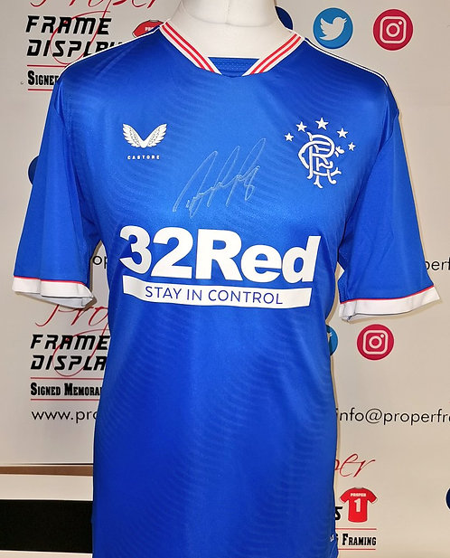 Ryan Jack signed shirt