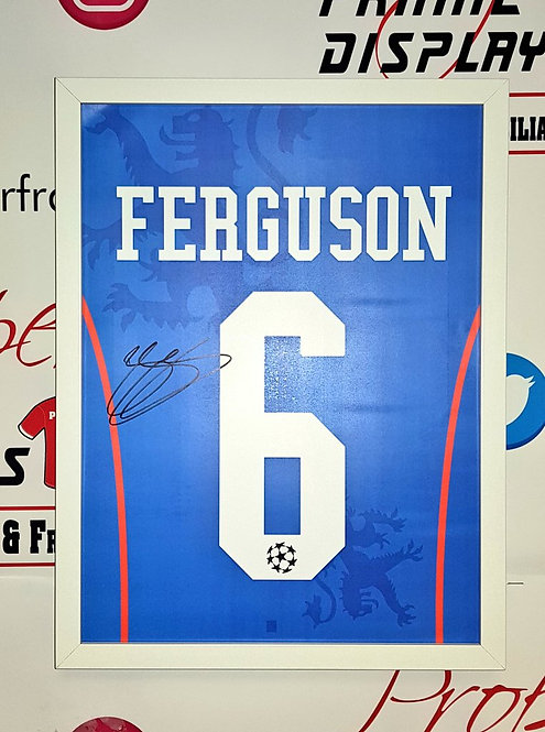 Barry Ferguson signed print