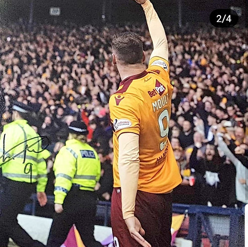 Louis Moult signed Photograph - Always Believe In