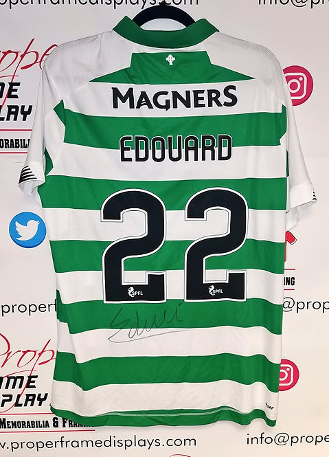Odsonne Edouard signed shirt