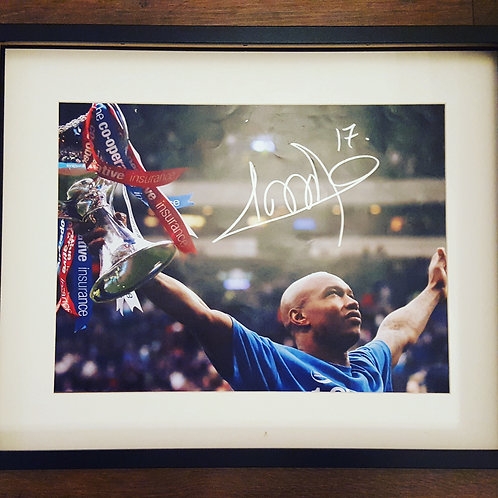 Diouf Hand Signed Photograph