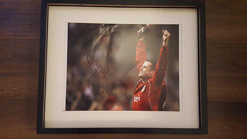 Carragher Hand Signed Photograph