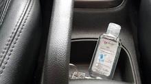 Álcool em gel - seu veículo está seguro?