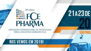 Rota setorizada e inovação serão destaques na FCE Pharma 2019